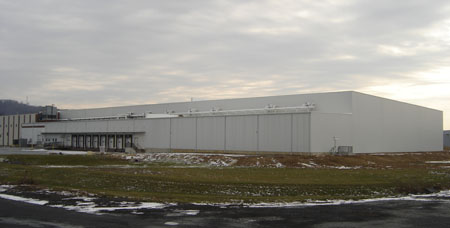 cold storage construction, refrigerated warehouse